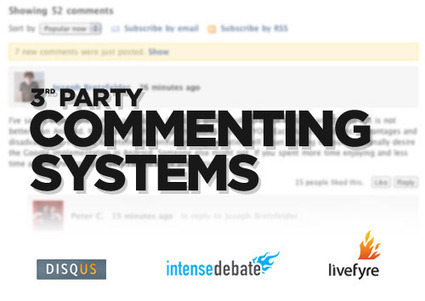 Top 3rd Party Commenting Systems – Reviewed | Tips For Bloggers | Scoop.it