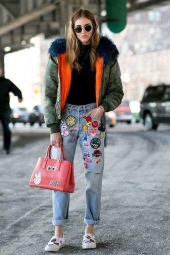 STREETSTYLE. Cinq tendances repérées à la sortie des défilés de New York | INTERSTYLEPARIS  Fashion News | Scoop.it