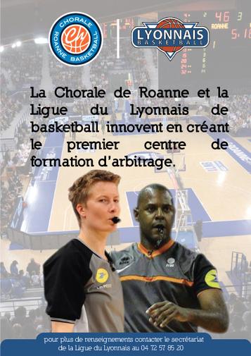 Ouverture d'un Centre de Formation arbitrage dans le Lyonnais | Ligue Régionale du Lyonnais de Basketball | Basket - Ressources pédagogiques | Scoop.it