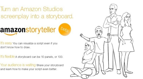 Amazon Storyteller Turns Scripts Into Storyboards | Storytelling Content Transmedia | Scoop.it