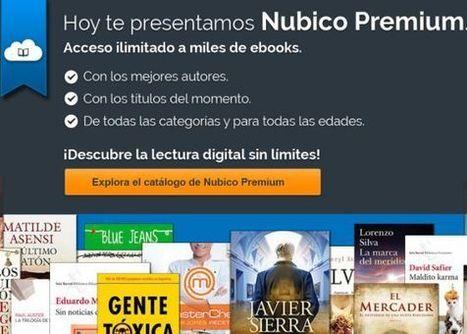 Telefónica lanza Nubico, el Spotify de los libros | Arte, Literatura, Música, Cine, Historia... | Scoop.it
