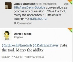 Our PD Talk: Date the Tool, Marry the Ability | Educational Leadership and Technology | Scoop.it