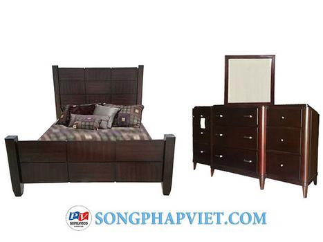 Bộ phòng 3 món Luna 1.6m SPV297T | bo phong ngu | Đồ Gỗ Song Pháp Việt | Hello coopit | Scoop.it