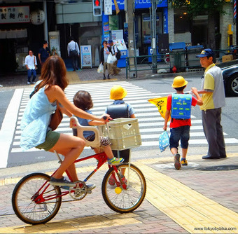 Why suburban Tokyo is teeming with female cyclists.   Tokyo By Bike - Cycling News & Information from Japan   Tokyo By Bike   Scoop.it