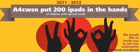 A4cwsn put 200 ipads in the hands of children with special needs | Special Needs News | Scoop.it
