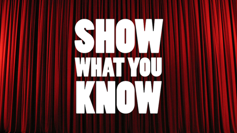 Show What You Know Using Web & Mobile Apps - Version 4 | Αναλυτικά Προγράμματα και Διδακτικός Σχεδιασμός | Scoop.it