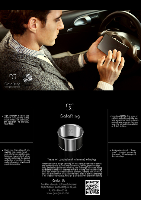 GalaRing G1 NFC Smart Ring for Smartphone with Unlock Smartphone & Exchange Data Function Sz L (Black)   US$ 29.99   UnBoxed - The Curated Influencer   Scoop.it