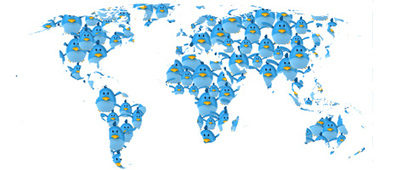 Geography of Twitter - Which Countries are the biggest users? | Resources for the Geography Teacher | Scoop.it