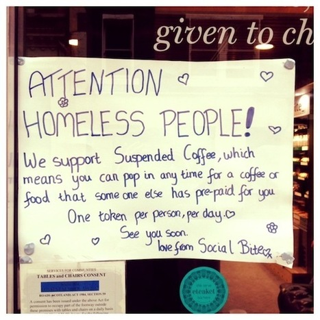 'Suspended Coffee' – Rose Street café leads the way in charitable giving | Coffee | Scoop.it