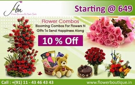 Top Florist in Delhi : Flower Boutique Online Flowers | Decorating-Ideas | Scoop.it