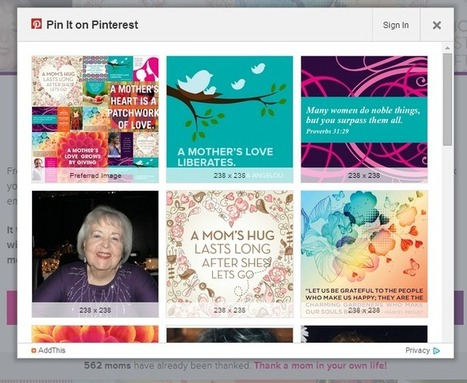 5 Inspiring Nonprofit Online Campaigns for Mother's Day | Nonprofits & Social Media | Scoop.it