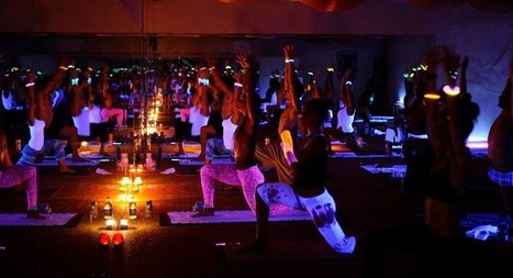 Glow in the Dark with Black Light Yoga - Fit Nation Magazine | Fitness | Scoop.it