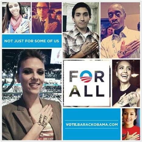 Obama punta sui giovani e lancia #ForAll, la nuova campagna social | Social media culture | Scoop.it