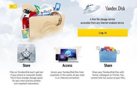 Yandex abre su servicio de almacenamiento online a todos los usuarios | Recull diari | Scoop.it