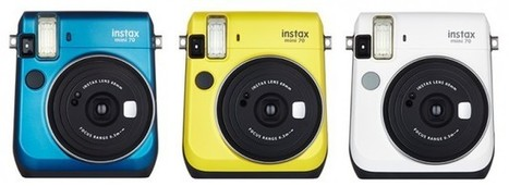 Fuji launches the new Instax Mini 70 - Amateur Photographer | Photography - Fuji | Scoop.it