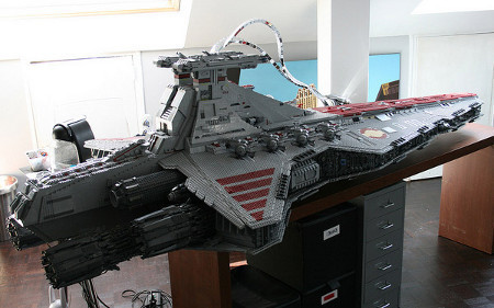43000 briques de Lego pour le Destroyer Stellaire | Le Journal du Geek | Star Wars, l'origine du Geek | Scoop.it
