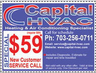 A/C annual maintenance, gas furnace repair services town of dumfries VA | Capital HVAC - heating and air conditioning repair services in VA | Scoop.it