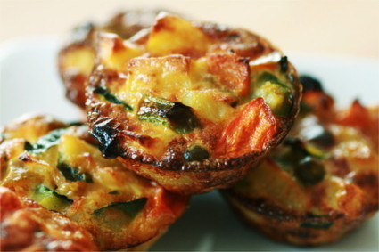 Mini tortillas aux légumes | Zekitchounette | Recettes paléo et The zone | Scoop.it