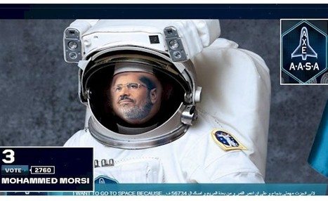 Egypt Youth Group Enters Mursi in Competition to Go to Moon | Égypt-actus | Scoop.it