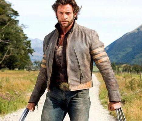 Hugh Jackman's Wolverine leather jacket (X-Men) | Celebrity Smashing Hugh Jackman leather jackets | Scoop.it