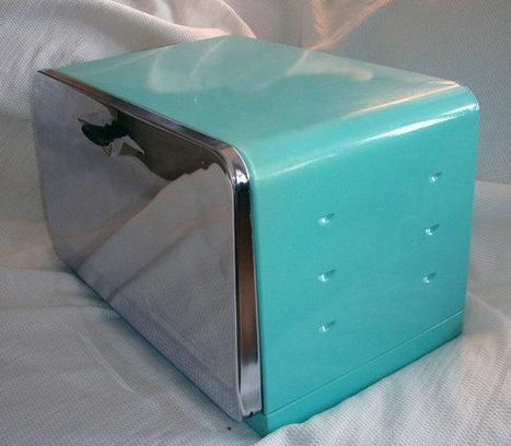Mid Century Bread Box Retro Kitchen Great Condition par bohoquilts | vintage2116 | Scoop.it