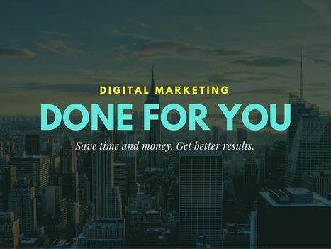 Don't Underestimate The Effort That SMB Digital Marketing Requires | Nothing But News | Scoop.it