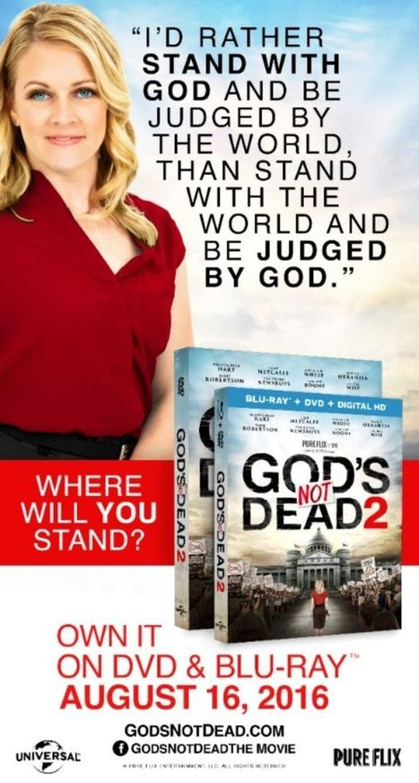 'God's Not Dead 2' ad rejected at Cleveland convention for being 'way too incendiary' | Fox News | EconomicFactors | Scoop.it