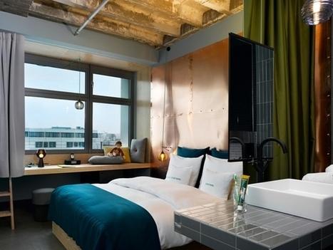 Design Hotel : Bikini Hôtel de Berlin - CôtéMaison.fr   Décoration: hôtels & restaurants   Scoop.it