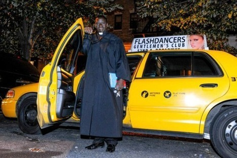 Taxi-Driving Pastor Offers Confessions on the Go | Strange days indeed... | Scoop.it