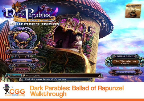 Dark Parables: Ballad of Rapunzel Walkthrough: From CasualGameGuides.com | Casual Game Walkthroughs | Scoop.it