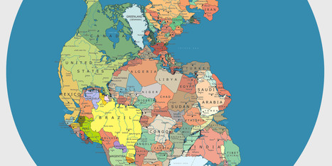 Pangea: así sería el mundo unido por sus fronteras (MAPA) - El Huffington Post | space oddity | Scoop.it