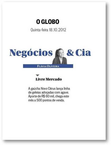 Novo Citrus no jornal O Globo « OrganicsNet   Ecofriendly goods   Scoop.it