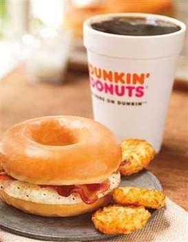 Look out America, here comes egg and bacon in a glazed doughnut - NBC News.com | It's Show Prep for Radio | Scoop.it