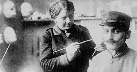 Lumière sur Anna Coleman Ladd, cette artiste qui rendait un visage aux soldats défigurés lors de la Grande Guerre | Théo, Zoé, Léo et les autres... | Scoop.it
