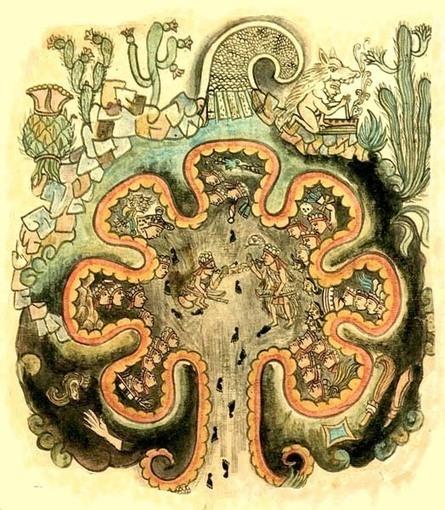 Chicomóztoc, mítico lugar de origen de los aztecas mexicas. | La gran Tenochtitlán y sus fundadores los aztecas | Scoop.it