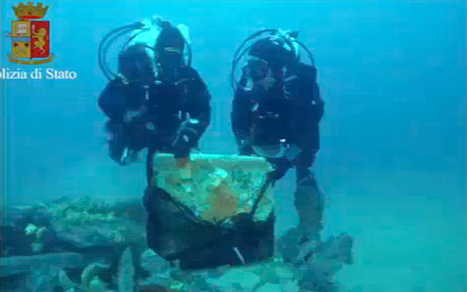 Well-preserved ancient Roman ship found in waters off Sardinia coast - Telegraph.co.uk | time in sant'antioco | Scoop.it