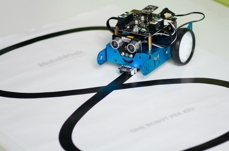 The easiest educational robot for kids, Mbot, goes AtHeart | Raspberry Pi | Scoop.it