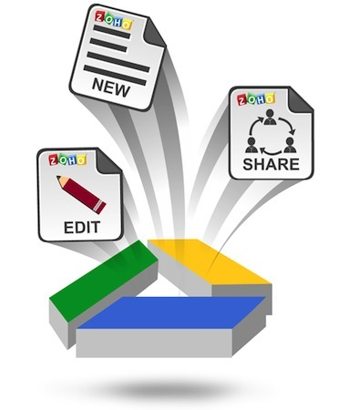 Zoho's Office suite gets Google Drive integration, keeps its freemium ... | Google + Applications | Scoop.it