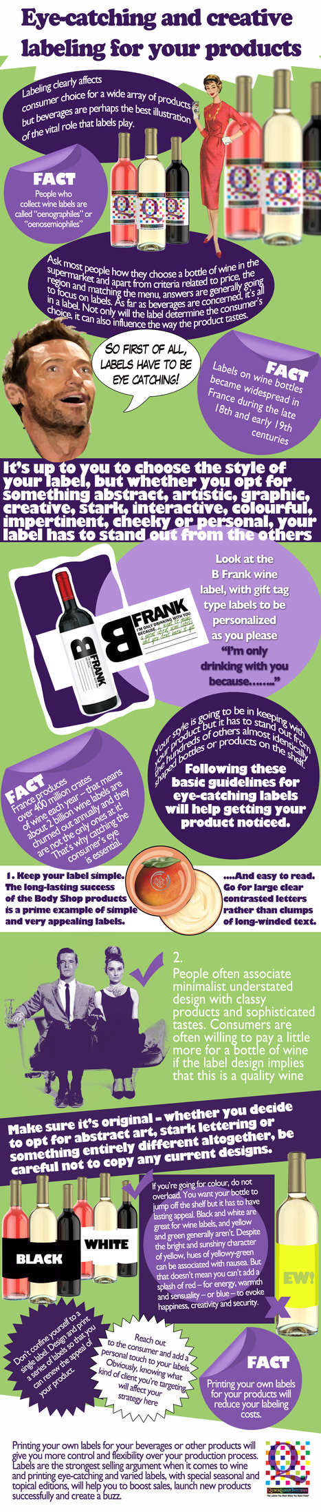 Wine producers have printed labels since the late 1700's | Colour Label Printers | Scoop.it