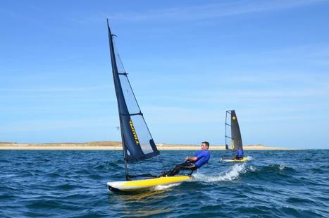 Morbihan. Le dériveur gonflable breton s'ouvre au monde   Ouest France Entreprises   Tiwal , the inflatable sailing dinghy made in France   Scoop.it