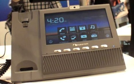 Nakamichi Android VoIP Phone at Hong Kong Electronics Fair 2012 | CNXSoft – Embedded Software Development | Embedded Systems News | Scoop.it