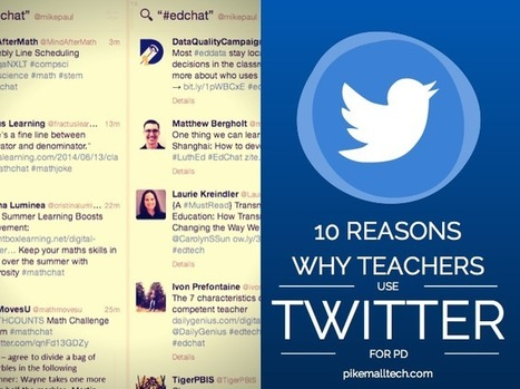 Why Teachers Use Twitter for Professional Development | ICT integration in Education | Scoop.it