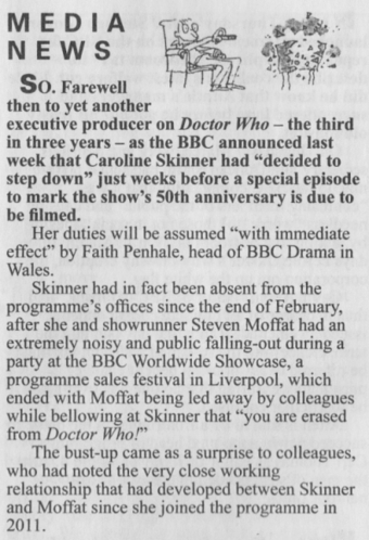 Private Eye On The Doctor Who Bust Up   Sci-Fi   Scoop.it