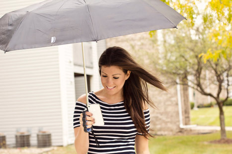 Brolly Umbrella Frees Thumbs for Texting | New technologies | Scoop.it