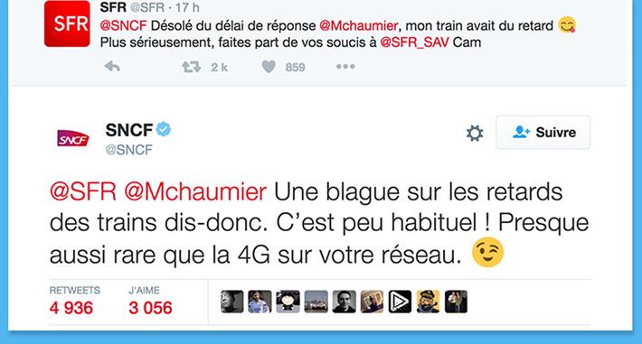 Quand les community manager de la SNCF et de SFR se lancent des piques | Médias sociaux : Conseils, Astuces et stratégies | Scoop.it