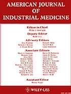 """American Journal of Industrial Medicine: """"Trades of dangers: A study of asbestos industry"""" 