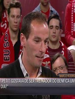 Petit sonha tornar-se treinador do Benfica - Atualidade - Correio da Manhã   Benfica   Scoop.it