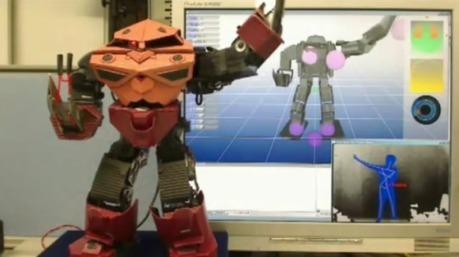 Contrôler un robot avec Kinect | veille technologique sur la robotique | Scoop.it