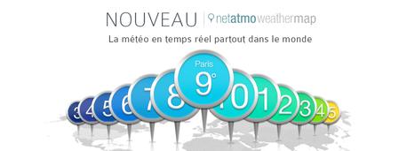 La carte mondiale Netatmo est disponible - Maison et Domotique | Soho et e-House : Vie numérique familiale | Scoop.it