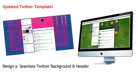Twitter Background Template for Photoshop – Seamless Design | Riel Gils | Scoop.it